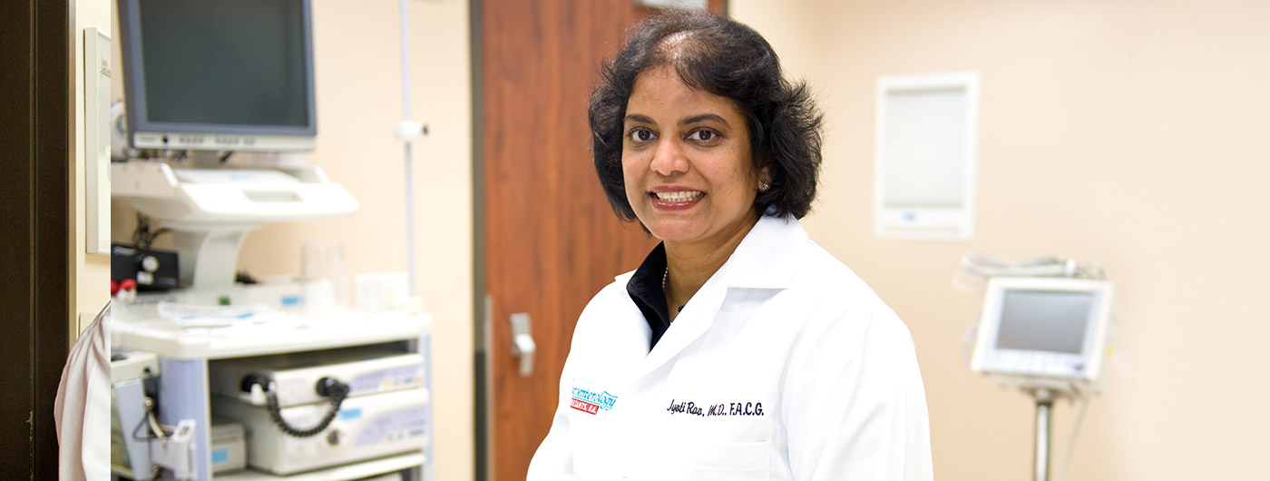 Gastroenterologist in Pearland, Nassau Bay, Webster, Pasadena, Houston - Jyoti Rao